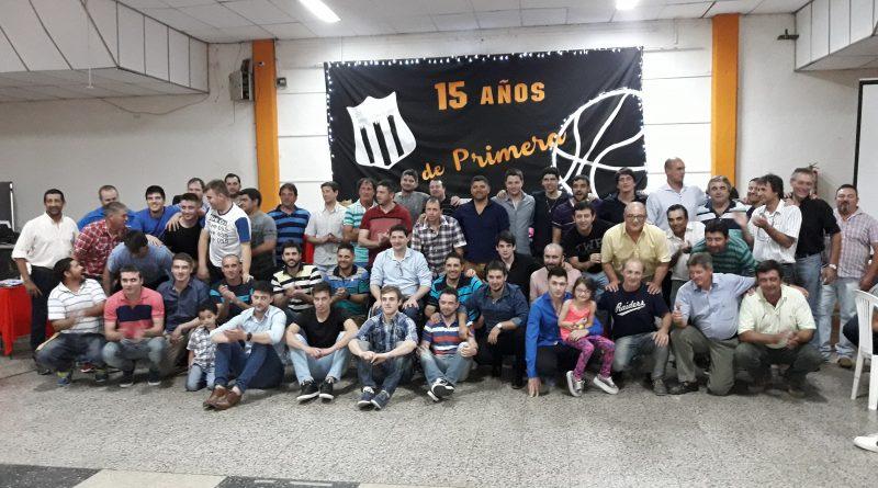 San Jorge festejo los 15 años del basquet de primera