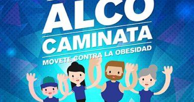 Fundación ALCO: Caminata contra la obesidad en Brinkmann