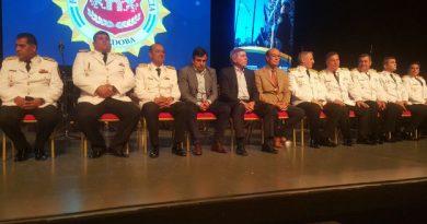 Massei encabezó el acto por el Día de la Policía