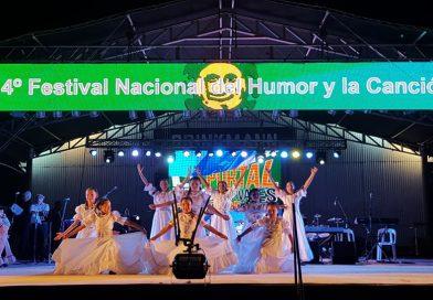Festival Nacional del Humor y la Canción: Artistas locales hicieron su paso por el escenario Luis Landriscina