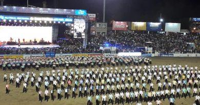 Delegación 'Argentina se Levanta' actuó en Jesús María con bailarines de Brinkmann