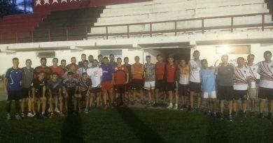 """Fútbol – Centro 2019/Día 1: El """"rojinegro"""" largó la pre temporada"""