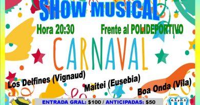 ESTA NOCHE: Carnavales en Seeber