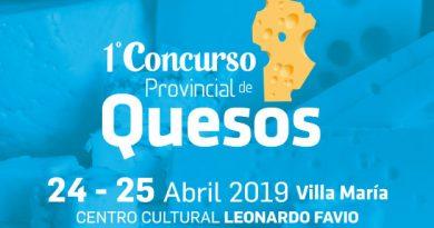 Se presentó en Villa María el 1° Concurso Provincial de Quesos