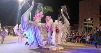 Porteña vive su fin de semana de «Mega Corsos»