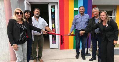 Inauguraron sala del Jardín Maternal del IECS