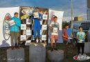 Karting del Salado: Bruno Monticone en el podio de la 4T