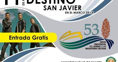 """Suardi prepara la """"53* Fiesta Provincial del Sorgo"""""""