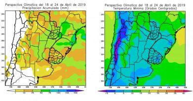 CLIMA –  Semana Santa, con lluvias moderadas y un domingo de Pascua que podría traer heladas