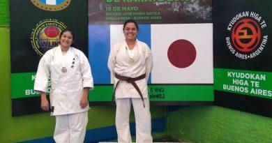 Varios podios brinkmanenses en el «Nacional de Karate» en Avellaneda (BsAs)