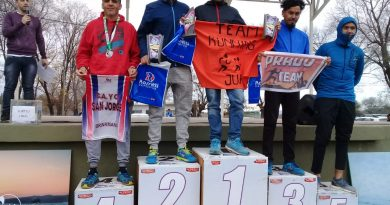 Javier Gaido sigue tercero en el «Trail Running Championship»