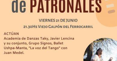Peña Folclórica de Patronales: 'Chueco' González presenta su nuevo disco