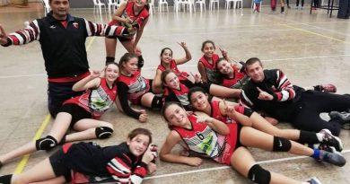 Vòley: La Sub 12 de Centro campeonas de la Copa de Oro en Chipiòn