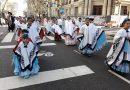Suardi participò en el Congreso Nacional de Folklore