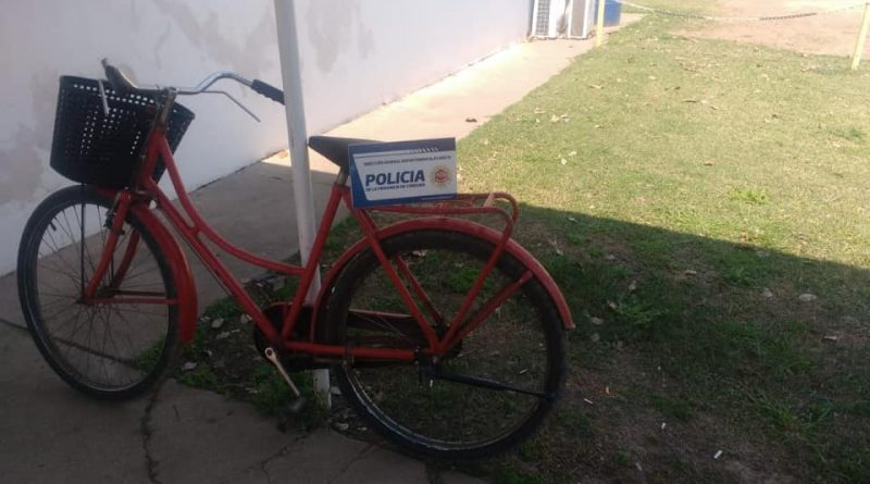 Brinkmann: Recuperan bicicleta que había sido robada