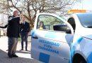 Calvo entregó un móvil de seguridad ciudadana en Las Varillas
