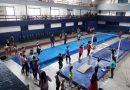 Josefina Grant compite en el Campeonato Nacional de Gimnasia en Buenos Aires