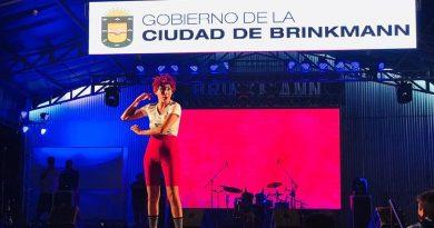 """La Bicho pasó """"ferozmente"""" por el Festival del Humor y la Canción"""