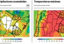CLIMA: Calor intenso y lluvias de hasta 50 milímetros