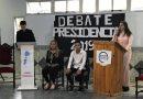 Alumnos realizaron simulacro de Debate Presidencial: Mauro Cabrera y Dalila Gallino los candidatos