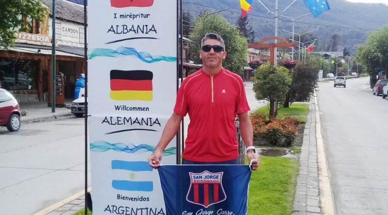Javier Gaido participa del «Salomón K42» en Villa La Angostura