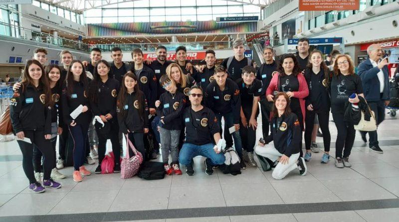 Karatecas de Centro Social participan del Torneo Internacional Interestilos en Sao Pablo