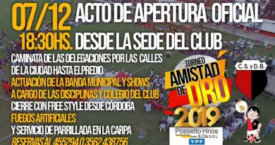 Amistad 2019: Cuenta regresiva para el 29* Torneo – Seguilo por LA RADIO DEPORTIVA