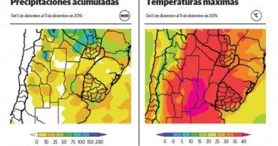 CLIMA: Vienen dìas de màs de 40 grados y  con escasas precipitaciones