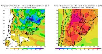 CLIMA: Lluvias abundantes en el centro-norte de Córdoba