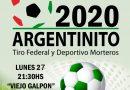 Argentinito 2020: El lunes se hace el Lanzamiento del Torneo de Tiro Federal