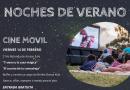 Siguen las «Noches de Verano» en Brinkmann con cine y peatonales artísticas