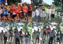 Juan Púa y Patricia Ponce ganaron la «Maratòn 128 años de Porteña»