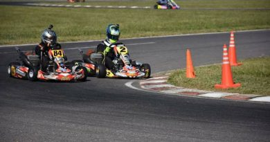 Maxi Marengo ganó en el debut del Certamen Santafesino de Karting