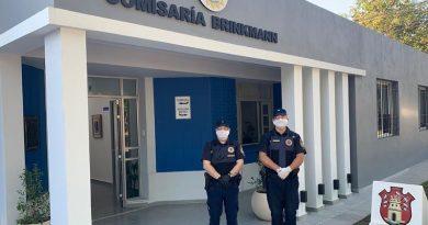 Policía de Brinkmann secuestró un vehículo y detuvo dos personas más por incumplimiento de cuarentena