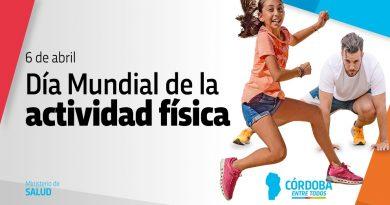 HOY  a las 11 hs.  – Día Mundial de la actividad física
