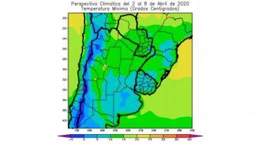 El inicio de abril podría traer las primeras heladas a Córdoba