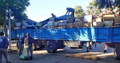Morteros recicló mas de 6 mil kilos de residuos
