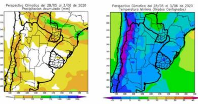Córdoba, aislado de las lluvias: un frente de tormenta solo traerá nuevas heladas