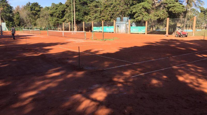 Volvió el tenis a Centro Social con reformas en canchas