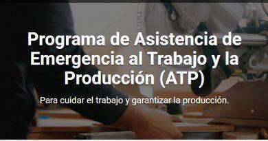 Cambios en el Programa ATP (Asistencia al Trabajo y la Producción)