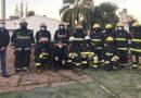 El Día del Bombero Voluntario comenzó con un breve acto en el cuartel