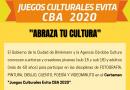 """Largan los Juegos Culturales """"Evita 2020"""""""