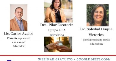 Este viernes webinar con Pilar Escotorín sobre «Mirada Prosocial para trasnformar la realidad»
