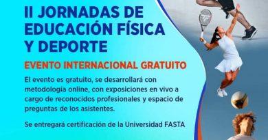 """Maxi Ferraresi disertará en las """"II Jornadas de Educación Física y Deportes"""""""