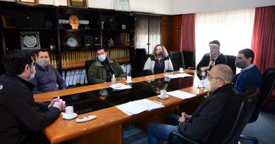 Directivos de Lactear se reunieron con autoridades municipales de Morteros