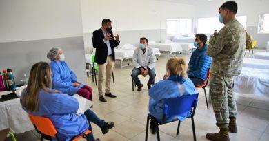Morteros: Personal de Epidemiología y del Ejercito brindaron capacitación para prevenir posible brote de Covid