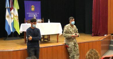 El Ejército Argentino brindó una nueva capacitación en Brinkmann