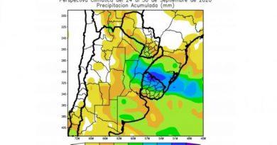 """CLIMA: Pronóstico de lluvias, con valores """"moderados"""" en Córdoba"""