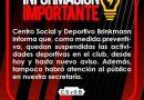 Centro y San Jorge suspendieron actividades y atención al publico preventivamente