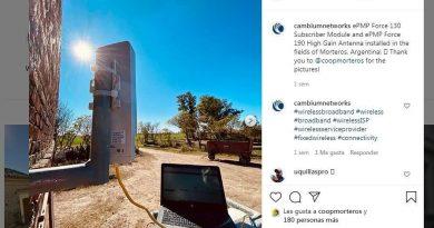 Empresa Norteamérica destaca el trabajo de Coopmorteros en los campos argentinos